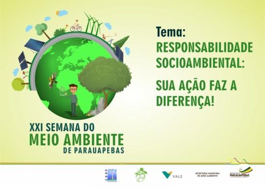 21ª Semana do Meio Ambiente trata de responsabilidade socioambiental