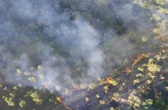 Bombeiros tentam há 7 dias controlar incêndio