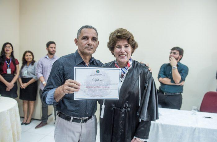 Maridé Gomes é diplomado para segundo mandato de vereador