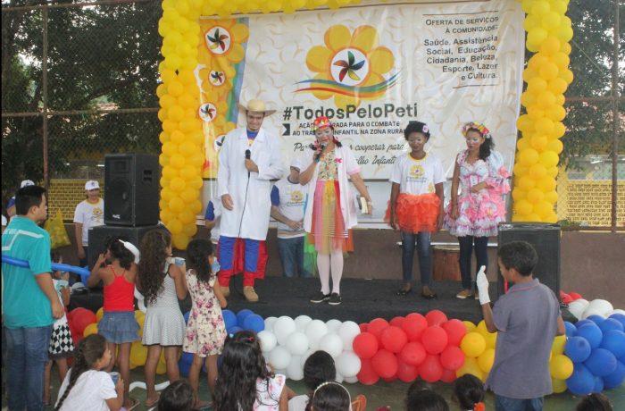 Populares da vila Sanção recebem atendimentos da 1ªAção Integrada de Combate ao Trabalho Infantil