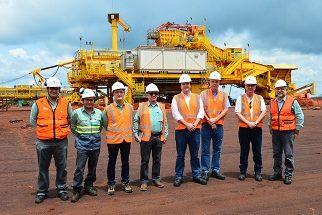 Ministro de Minas e Energia conhece Projeto S11D