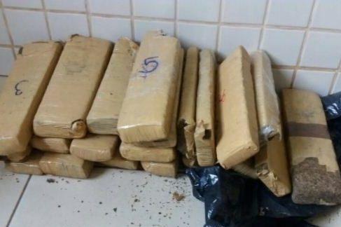 Parauapebas Traficante é preso com 20 quilos de maconha