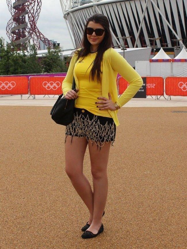 Looks para a Copa do Mundo  como se vestir para torcer pelo Brasil ... 9448a11315f70